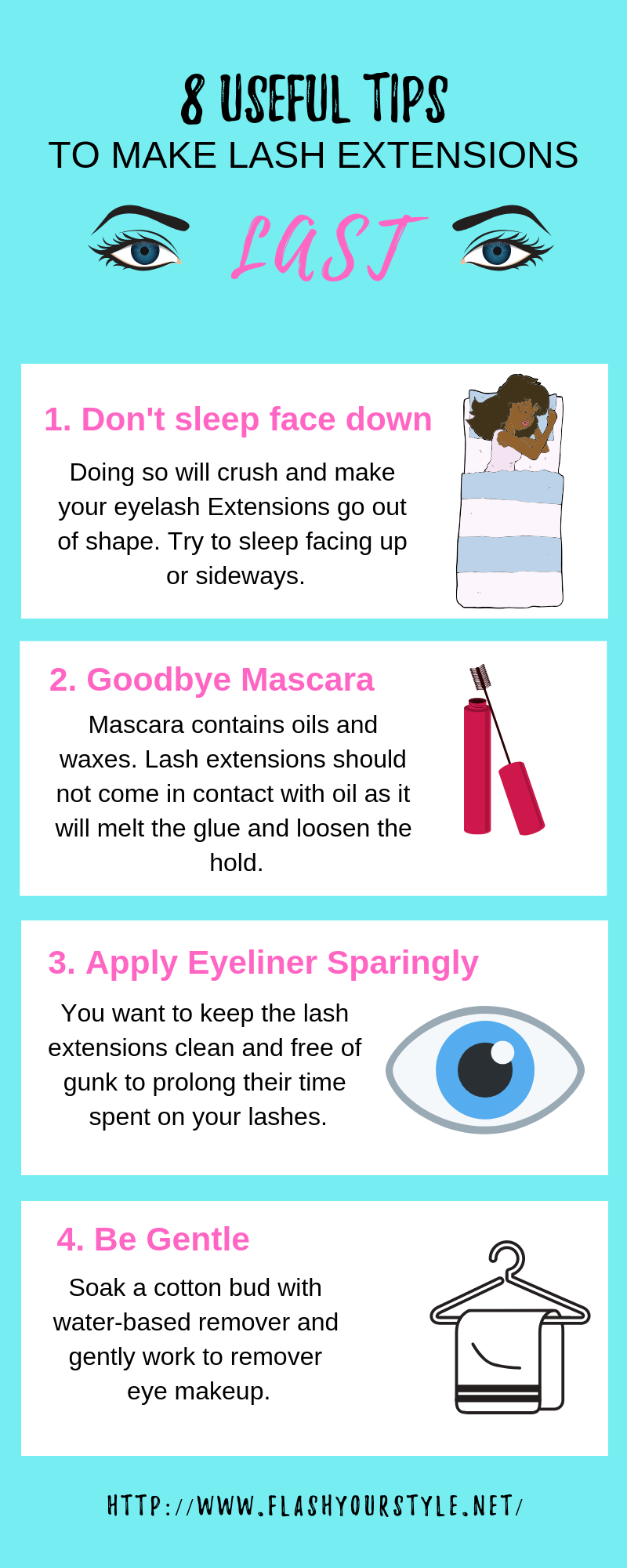 Tips To Make Living Room Cozy: Makeup Tips For Lash Extensions
